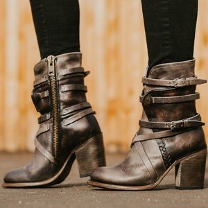 FREEBIRD by Steven leather Baker boots BRAND NEW!